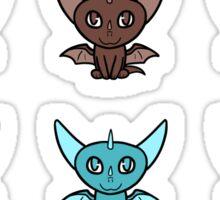 Dragon Chibis Sticker