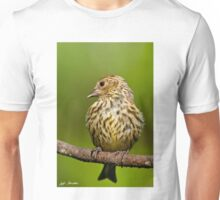 Pine Siskin With Yellow Coloration Unisex T-Shirt