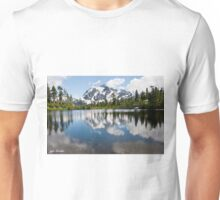 Mount Shuksan Reflected in Picture Lake Unisex T-Shirt