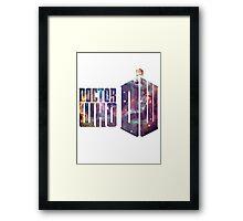 dr who galaxy Framed Print