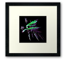 Colorful Chaos Framed Print