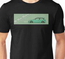 honda civic ef hatchback Unisex T-Shirt