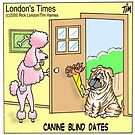 Canine Blind Date by Rick  London