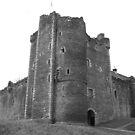Doune Castle by hans p olsen