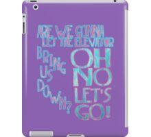 Let's Go Crazy  iPad Case/Skin