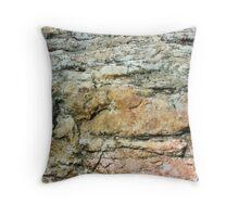 Anatomy of a Rock pt.1 Throw Pillow