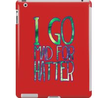 Mad for Hatter iPad Case/Skin