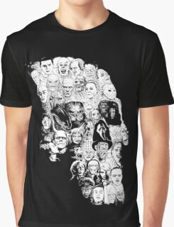 horror skull Graphic T-Shirt