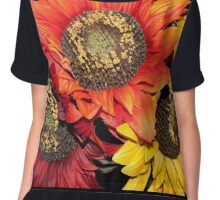Sunflower Times 3 Chiffon Top