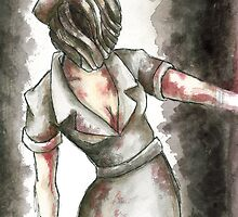 Silent Hill Nurse by Katie Clark