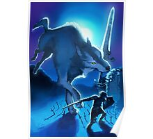 Sif the Great Grey Wolf Poster
