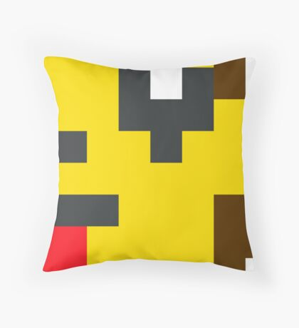 The Shocker Throw Pillow