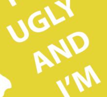 Spongebob - Ugly & Proud Sticker