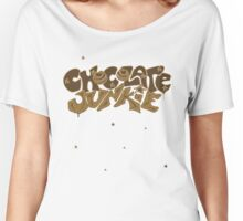 Chocolate Junkie  Women's Relaxed Fit T-Shirt