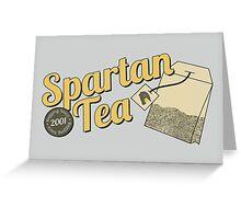 Spartan Tea Greeting Card