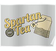 Spartan Tea Poster