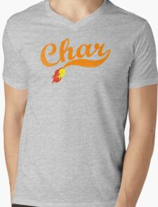 Char Mens V-Neck T-Shirt
