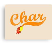 Char Canvas Print