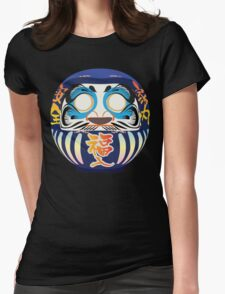 Japanese Art Womens Fitted T-Shirt
