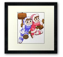 Ice Climbers Popo & Nana Framed Print