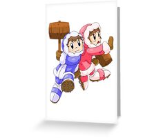 Ice Climbers Popo & Nana Greeting Card