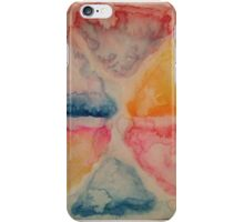 water color clouds iPhone Case/Skin