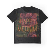Happy Medium Floral Graphic T-Shirt