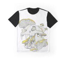 Chanterelle Skull Graphic T-Shirt