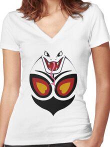 Arbok Women's Fitted V-Neck T-Shirt