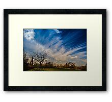 Keep Watching The Sky Framed Print