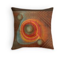 Cracked wall abstract Throw Pillow Throw Pillow