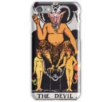 The Devil iPhone Case/Skin