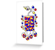 Loon Primary Greeting Card