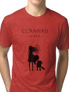 CLANNAD - Girl & Robot Tri-blend T-Shirt