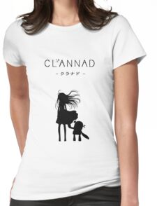 CLANNAD - Girl & Robot Womens Fitted T-Shirt