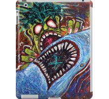 Zombie Shark Fight iPad Case/Skin