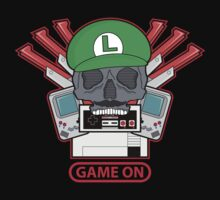 Game On Skull (L) Kids Clothes