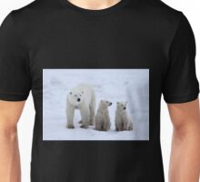 FAMILY PORTRAIT #2 - Polar Bears, Churchill, Canada Unisex T-Shirt
