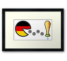 Germany World Cup 2014 Framed Print