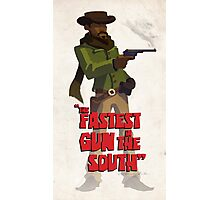 The fastest gun in the south Photographic Print