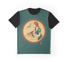 girl with a bird  Graphic T-Shirt