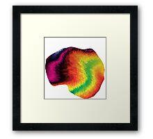 Furry spectrum Framed Print