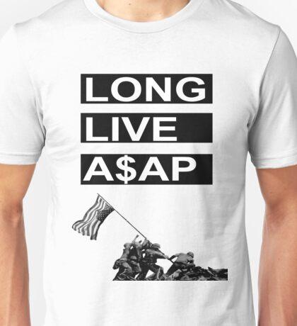 Long Live A$AP - Flag Rising Unisex T-Shirt