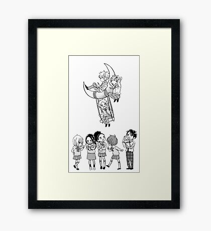Day Time Shooting Star Framed Print