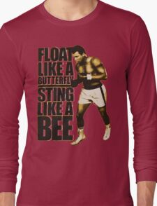 muhammad ali quotes Long Sleeve T-Shirt