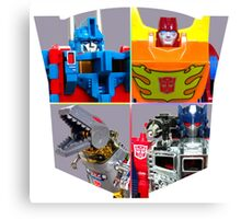 TRANSFORMERS FIGURES!!! G1 Autobot Logo  Canvas Print
