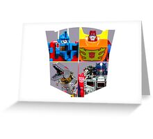 TRANSFORMERS FIGURES!!! G1 Autobot Logo  Greeting Card