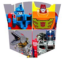 TRANSFORMERS FIGURES!!! G1 Autobot Logo  Photographic Print