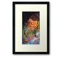I Found Peace in a Glass Jar Called Desire Framed Print