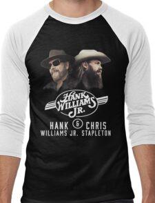 All Hank Williams Jr 03 Men's Baseball ¾ T-Shirt